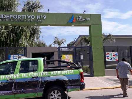 San Fernando intensifica el control de plagas en los Polideportivos