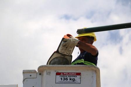 En 2018 San Isidro colocó 10 mil luminarias led