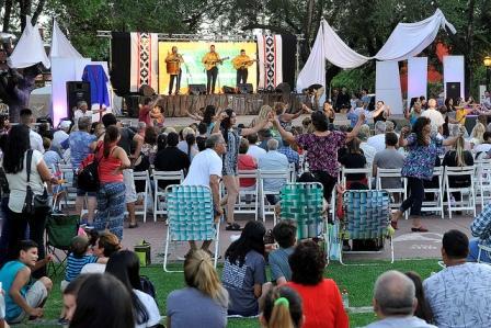 Más de dos mil personas disfrutaron de una nueva edición del Festival Folclórico Popular General Pacheco