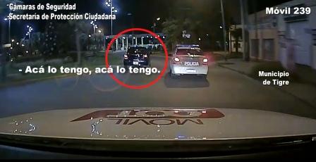 Asesinaron a un hombre en Merlo, ingresaron a Tigre con un auto robado y fueron detectados por el sistema BUSCADOR