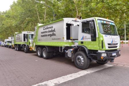 San Fernando sumó nuevos camiones a la flota del Municipio