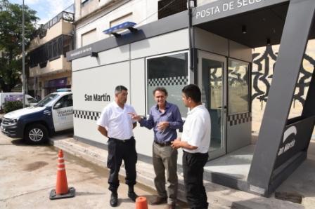 Katopodis recorrió dos nuevas Postas de Seguridad