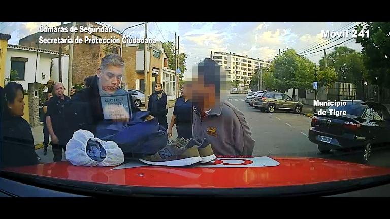 """Tres """"pirañas"""" robaron zapatillas a un joven y fueron detenidos gracias a la tecnología del COT."""