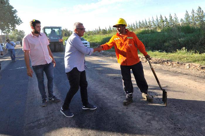 Tigre continúa con su plan de asfalto en Benavídez.