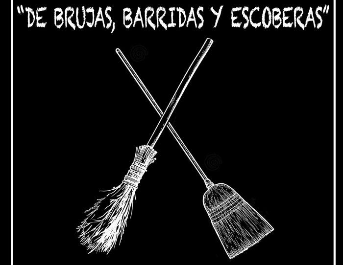 """Convocatoria abierta a participar de la muestra """"De brujas, barridas y escoberas""""."""