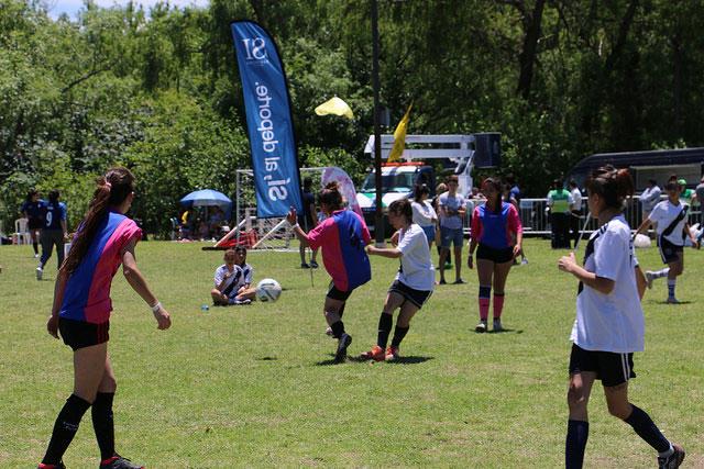 Más de cien mil personas participaron de las propuestas deportivas en San Isidro.