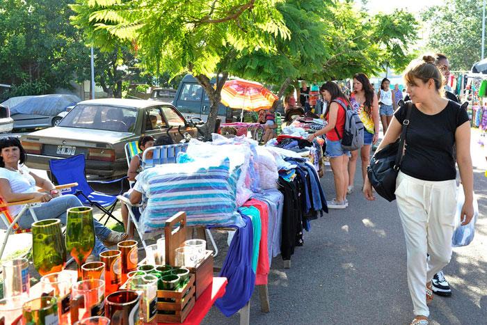 En Rincón de Milberg, los fines de semana se puede disfrutar de la Feria de la Economía Popular.