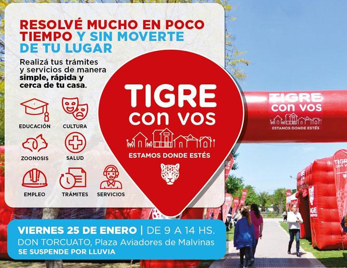Este viernes Tigre con vos vuelve a Don Torcuato
