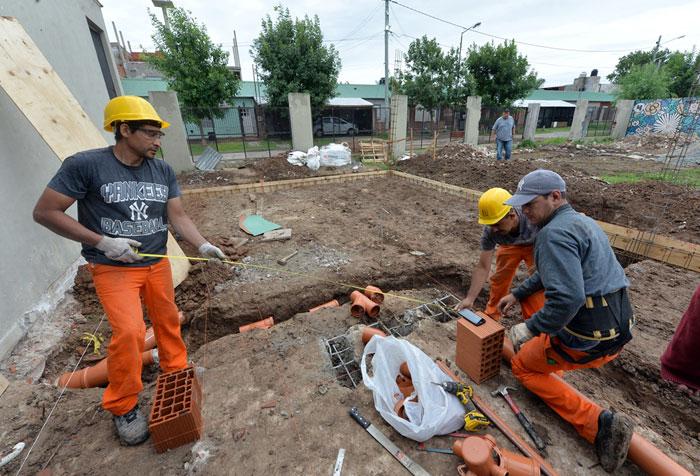 Juan Andreotti recorrió la renovación integral del Jardín N° 932 y sus dos aulas nuevas.