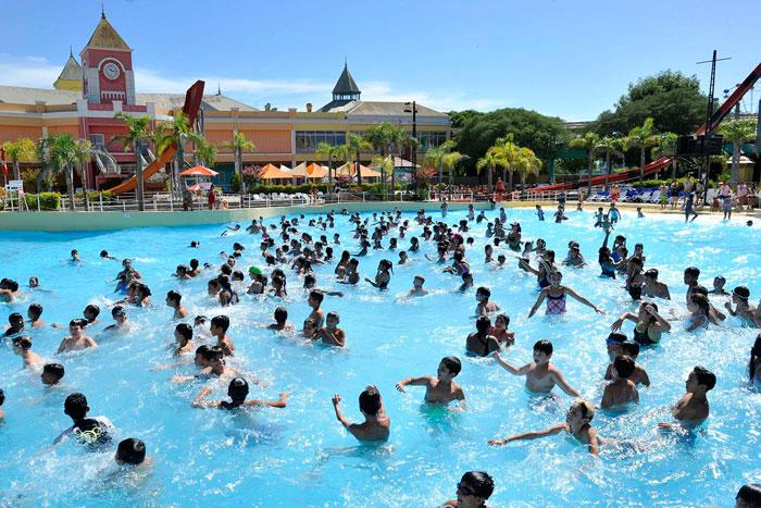 Colonias 2019: Los chicos de los polideportivos de Tigre disfrutaron Aquafan.