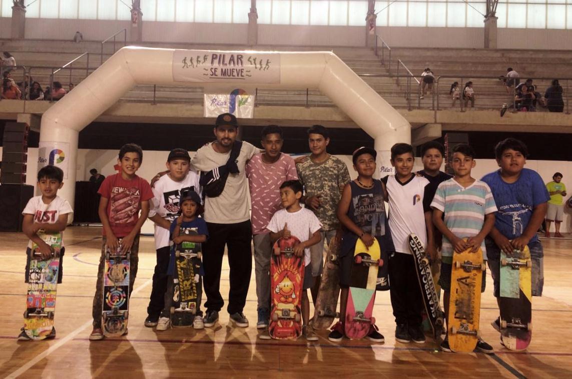 Exitoso 2018 para la Escuela de Iniciación Deportiva de Skate.