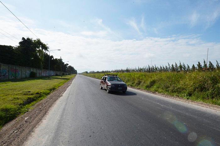 Finalizaron las obras de pavimentación de la calle El Dorado en Benavídez.