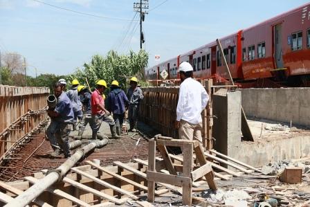 Se realizan en San Isidro los trabajos previos a la excavación del nuevo túnel Sarratea