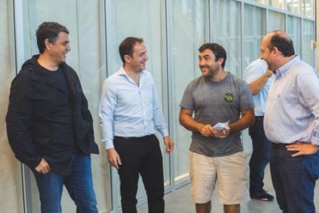 Jorge Macri y Abella compartieron actividades y trataron temas políticos