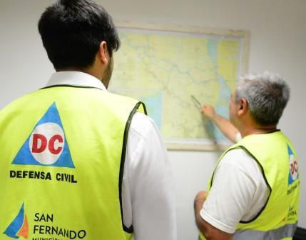Se realizó en San Fernando una reunión de Directores de Defensa Civil