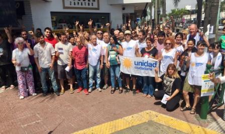 Unidad Ciudadana de Tigre de manifestó contra el ajuste