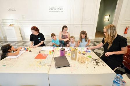 Comenzaron los talleres de verano gratuitos en el Museo de Arte Tigre