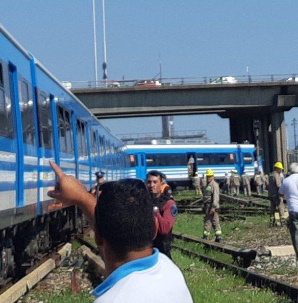 Descarriló un tren del ramal Tigre en retiro y evacuaron a los pasajeros