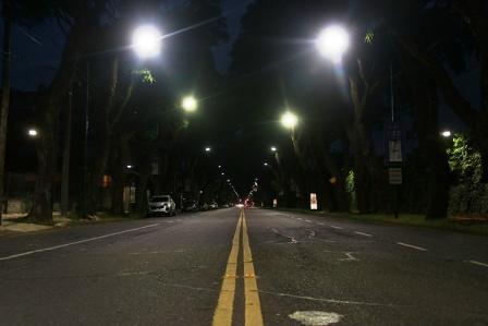 San Isidro suma nuevas luces led en Av. Del Libertador