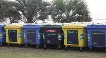 En 2018 San Isidro sumó 1.000 contenedores a la vía pública
