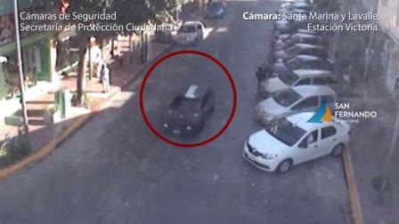 Cámaras de seguridad de San Fernando permitieron identificar al sospechoso del homicidio de Brian Fillip