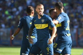 Boca, sin jugar bien y sufriendo hasta el final, le ganó a Godoy Cruz en la Bombonera