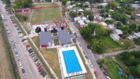 En un acto celebrado en el barrio La Mascota de Benavídez, el intendente de Tigre, Julio Zamora, inauguró el polideportivo municipal N°18 Bernardo