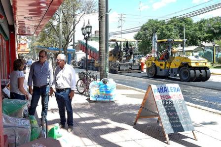 Plan de obras 2019: Julio Zamora recorrió las localidades de Benavídez y Villa La Ñata