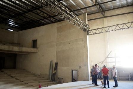 Julio Zamora supervisó el avance de grandes obras en Benavídez y Tigre centro
