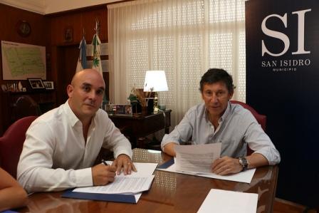 San Isidro y Nación firman convenio para agilizar trámites de habilitaciones comerciales