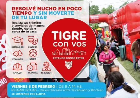 """Ricardo Rojas recibe este viernes al programa municipal """"Tigre con vos"""""""