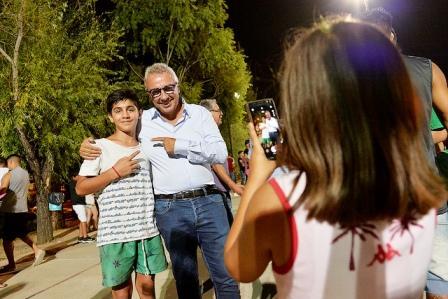 Julio Zamora compartió la despedida de temporada de los polideportivos de General Pacheco, El Zorzal y Ricardo Rojas