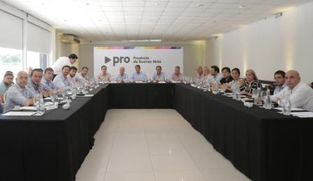 Intendentes del Pro Provincial enfatizaron el pedido de eliminar las PASO