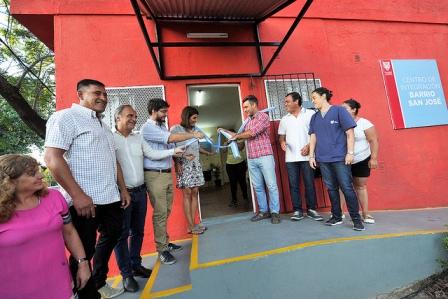 Tigre inauguró un nuevo Centro de Integración Social para la comunidad