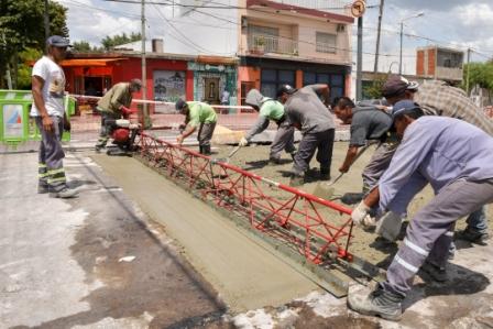 San Fernando Avanza con la renovación de la Av. Avellaneda