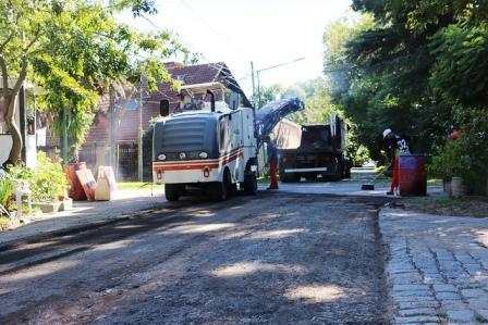San Isidro renueva 11 cuadras de la calle Laprida