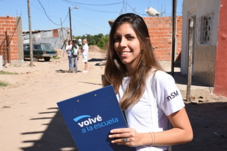 Volvé a la Escuela llegó a más de 8.000 casas de San Martín