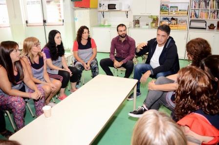 Jorge Macri compartió una jornada con docentes del Jardín Maternal Nº8