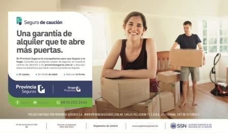 Provincia Seguros lanzó un exclusivo seguro de caución alquileres