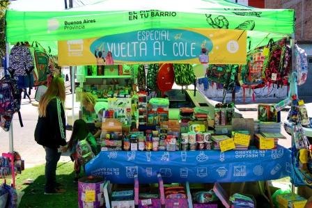 El Mercado en tu Barrio suma variedad de productos escolares a su oferta