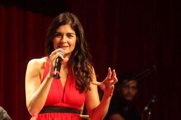 Soledad Villamil se presentará en vivo en Vicente López