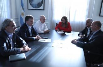 Vidal y Larreta acordaron con Nación los traspasos de Edenor y Edesur