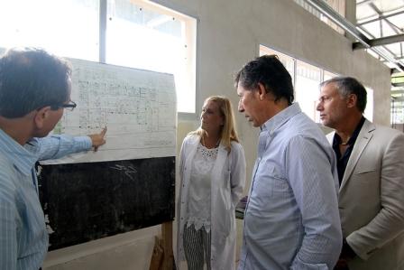 Última etapa de obras en el hospital Municipal Materno Infantil de San Isidro