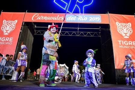 Comenzaron en Tigre los Carnavales del Río 2019