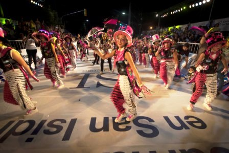 Más de 50 mil personas disfrutaron del carnaval en San Isidro