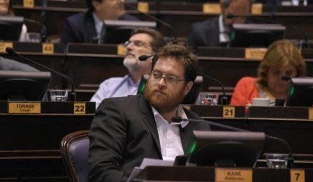 diputado del Frente de Izquierda, Guillermo Kane,