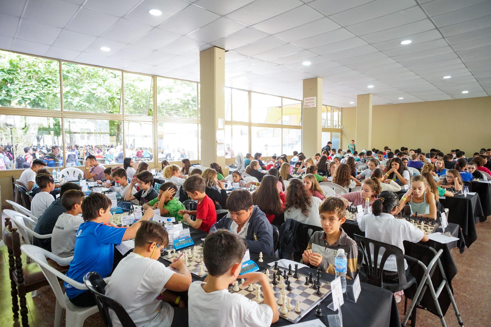 Récord de participantes en el Campeonato Argentino de Ajedrez que se realizó en Vicente López