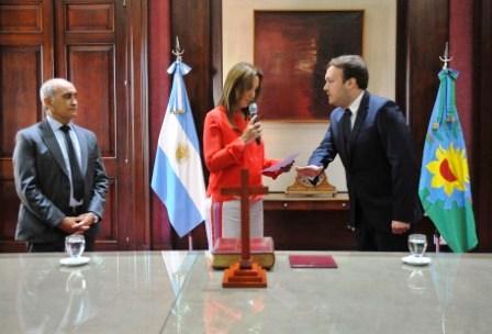 Vidal tomó juramento a José Grippo como Secretario de Legal y Técnica