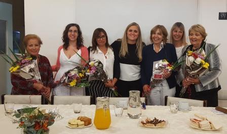 Meneca Djedjeian homenajeó a mujeres de Vicente López