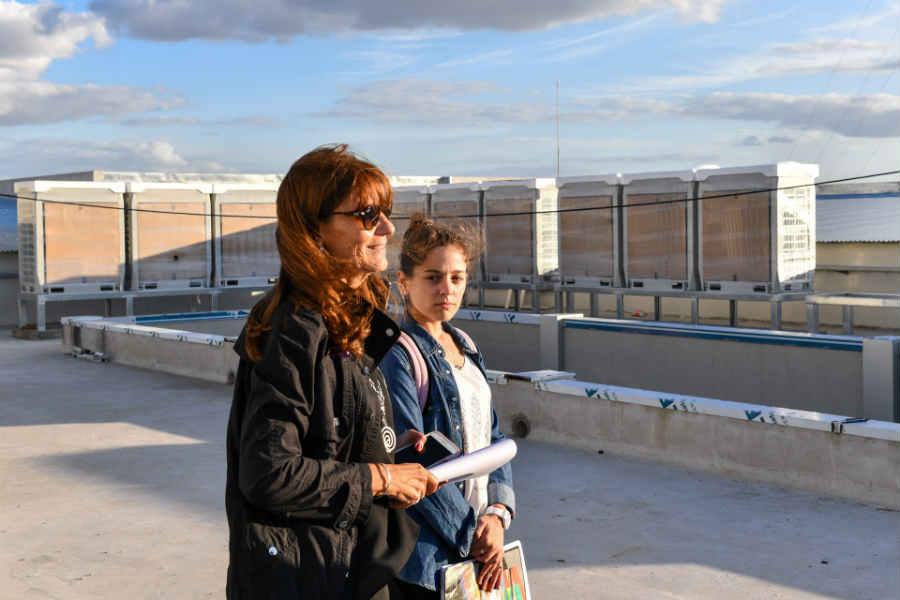El futuro Hospital Municipal de San Fernando ya cuenta con sus equipos de aire acondicionado